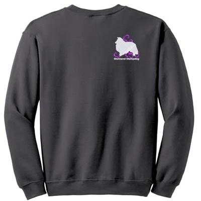 Cool Tribal Sheltie Sweatshirt