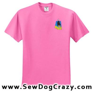 Aframe Sheltie Agility Tshirt