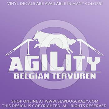 Agility Tervuren Decals