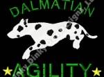 Dalmatian Agility Embroidery