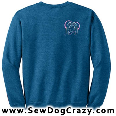 Pretty Bearded Collie Sweatshirt