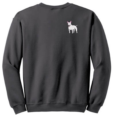 Cute Cartoon Bull Terrier Sweatshirt