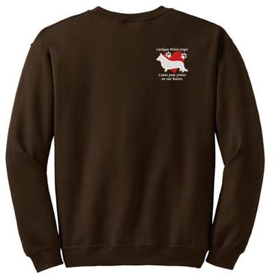Cardigan Welsh Corgis Leave Paw Prints Sweatshirt