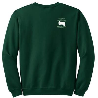 Old English Sheepdog Agility Sweatshirt