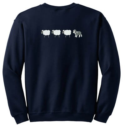 Cute Old English Sheepdog Herding Apparel