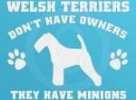 Funny Welsh Terrier Decals