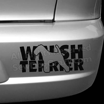 Welsh Terrier Bumper Stickers