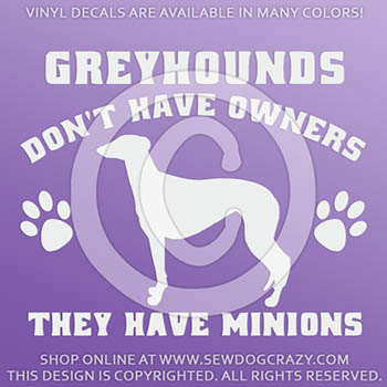 Funny WOLFHOUND  Taxi Service Vinyl Car Decal Sticker Pet Dog Animal