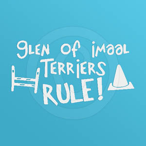 Glen of Imaal Terrier Decal