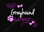 Embroidered Greyhound Apparel Gifts