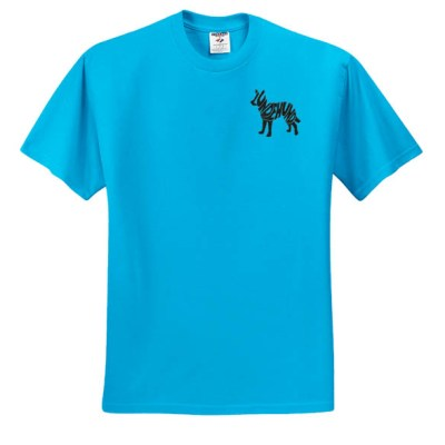 Embroidered Norwegian Lundehund T-Shirt