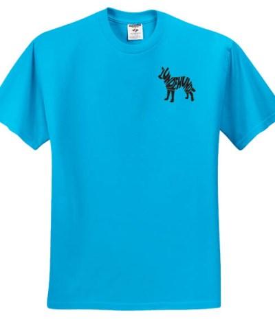 Embroidered Norwegian Lundehund T-Shirt