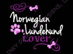 Embroidered Norwegian Lundehund Apparel