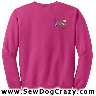 Bar Jump Yorkie Agility Sweatshirt