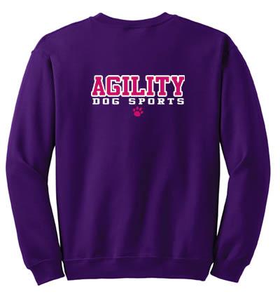 Agility Dog Sports Sweatshirt