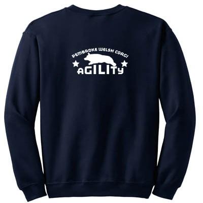 Pembroke Welsh Corgi Agility Sweatshirt
