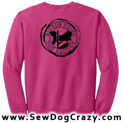 Bichon Frise Agility Sweatshirt