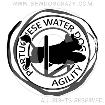 Portuguese Water Dog Agility Shirts