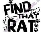 Find That Rat Earthdog Barn Hunt Apparel