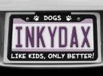Funny Dog License Plate Frame