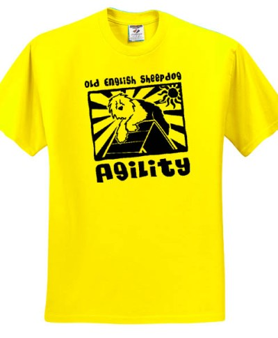 Old English Sheepdog Agility T-Shirt