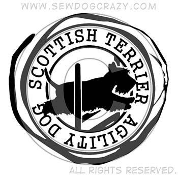 Scottish Terrier Agility Shirts