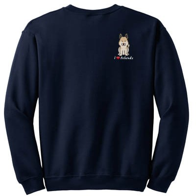 Cartoon Norwegian Buhund Sweatshirt