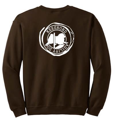 Keeshond Agility Sweatshirt