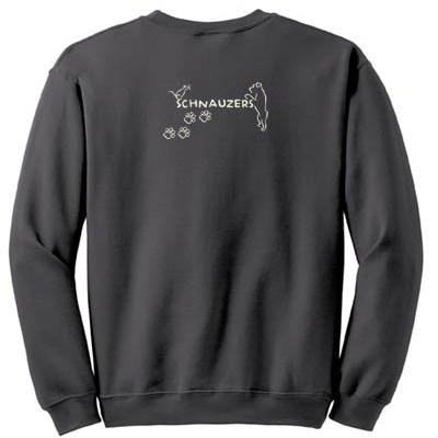Schnauzer Vermin Hunting Sweatshirt Gift
