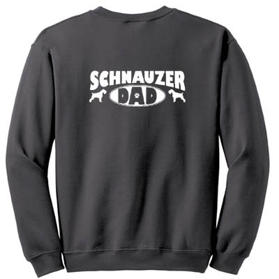 Schnauzer Dad Sweatshirt