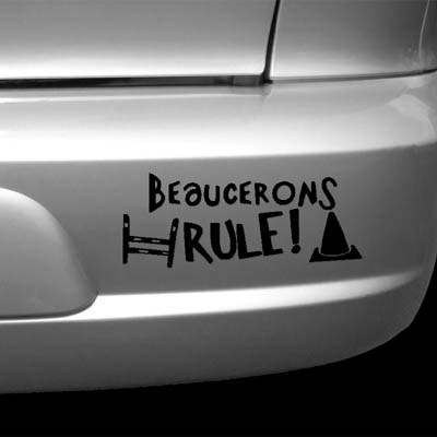 Rally-O Beauceron Stickers