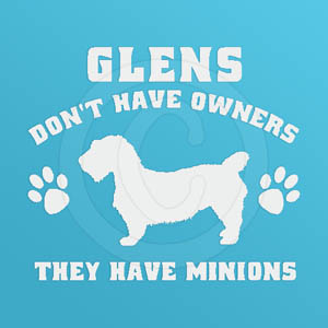 Funny Glen of Imaal Terrier Decals