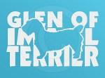 Cool Glen of Imaal Terrier Vinyl Decals