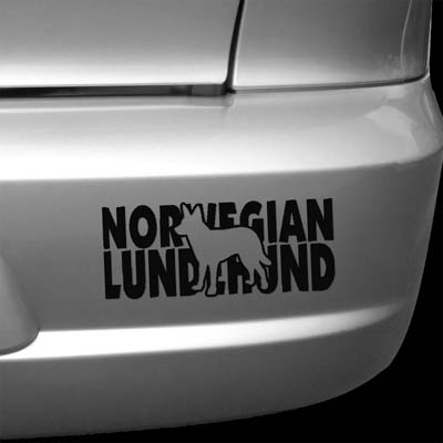 Norwegian Lundehund Decals