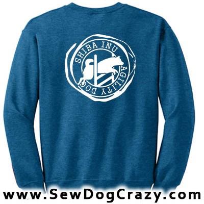 Shiba Inu Agility Sweatshirts