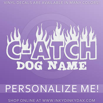 Personalized Dog Agility Decals