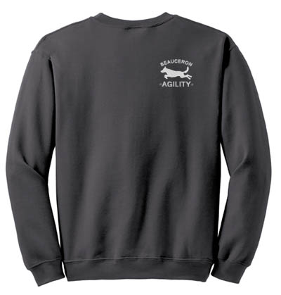Embroidered Beauceron Agility Sweatshirt