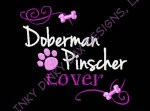 Doberman Pinscher Embroidery Gifts