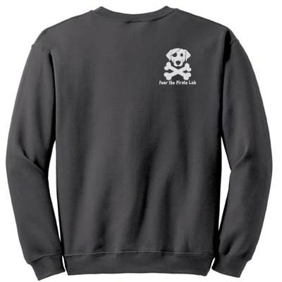 Cool Labrador Retriever Embroidered Sweatshirt