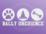 Rally Obedience Car Stickers