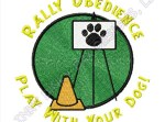 Rally Obedience Embroidery Gifts