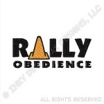 Rally Obedience Dog Sport Embroidery