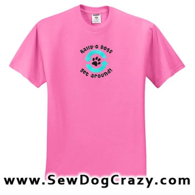 Embroidered Rally Obedience Shirts