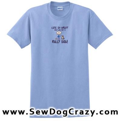 Life is Great Rally Tshirt
