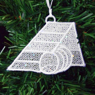 Dog Agility Christmas Ornaments