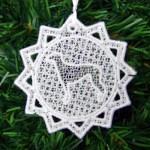 Pretty Greyhound Ornaments