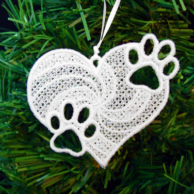 Unique Dog Lover Christmas Ornaments