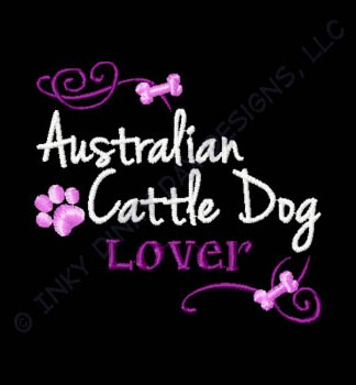 Pretty Australian Cattle Dog Apparel