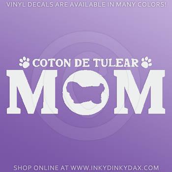 Coton de Tulear Car Stickers