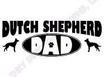 Dutch Shepherd Dad Gifts